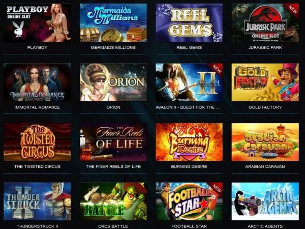 Casino-X spelutbud- casinoswe